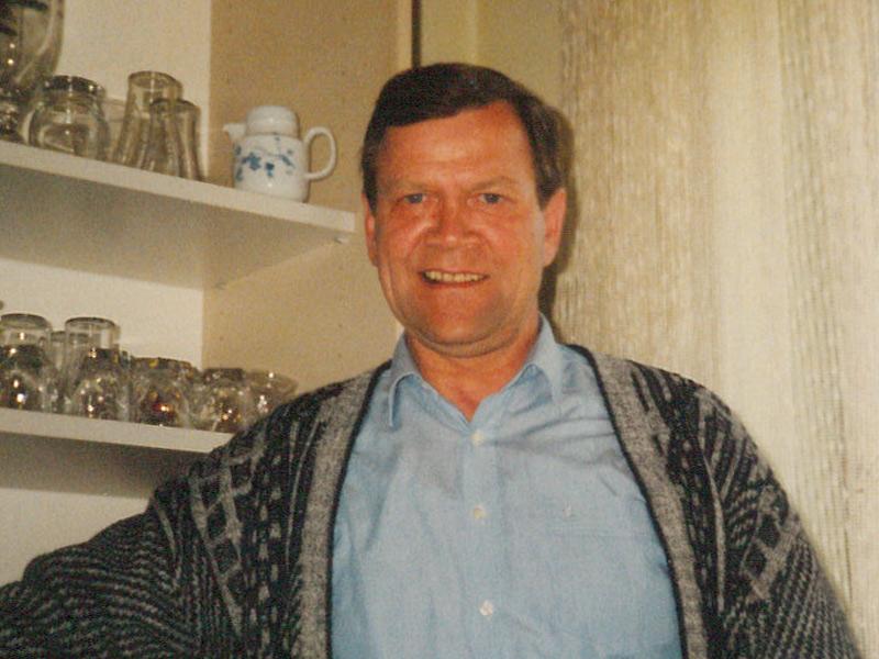 Firmengründer Erich Haumer 1985